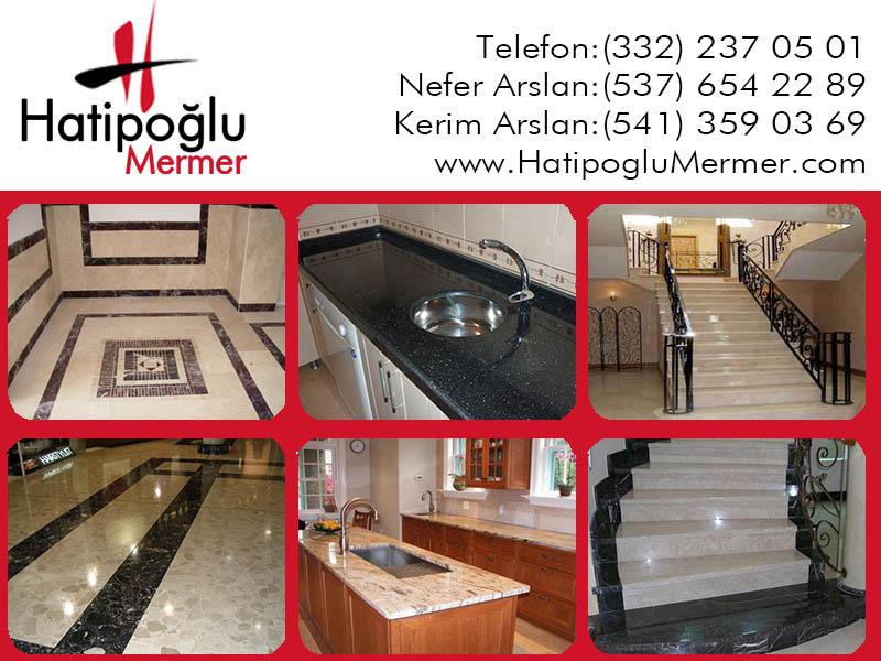 Hatipoğlu Mermer, Konya, Ankara, İzmir, Bursa, İstanbul